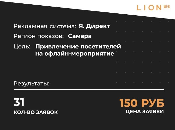 Заявки по 150 рублей на открытие корнера через Я.Директ, изображение №1