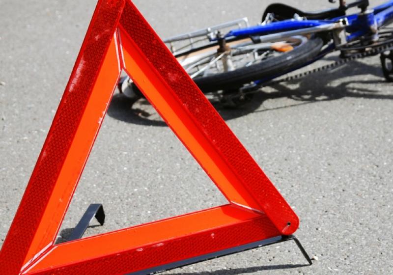 Водитель легковушки не уступил дорогу подростку-велосипедисту в Йошкар-Оле