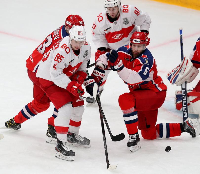 «Спартак» уступил ЦСКА во втором матче серии плей-офф (Видео)