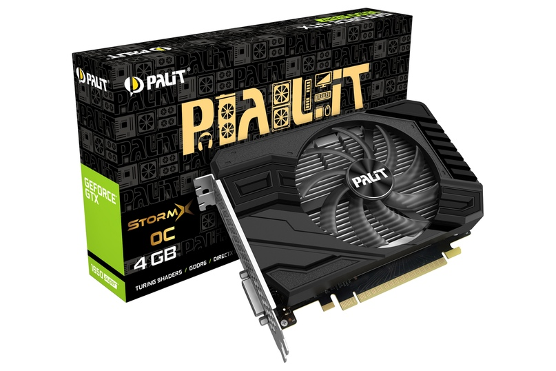 Серия Palit GeForce GTX 1650 SUPER StormX
