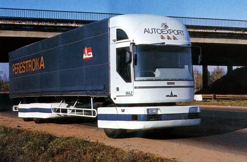 10 самых футуристичных грузовиков, изображение №6