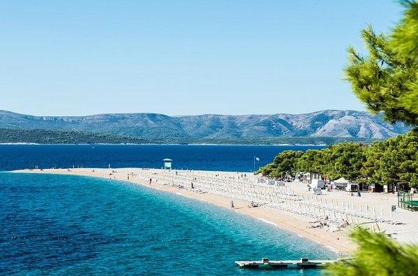 Пляж Золотой рог на острове Брач, Хорватия, изображение №4