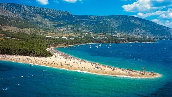 Пляж Золотой рог на острове Брач, Хорватия, изображение №5