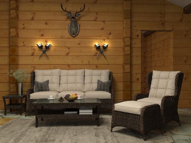 Плетеная мебель из искусственного ротанга, изображение №4