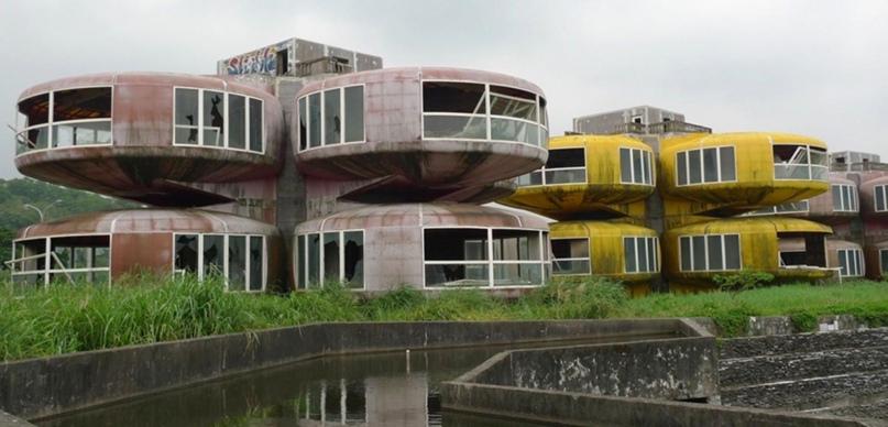 Город Саньчжи с домами-НЛО, Тайвань, изображение №2