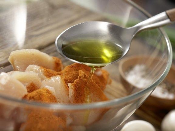 Аппетитный суп из сладкого картофеля с пряной курицей, изображение №2