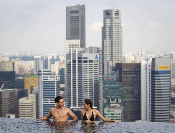 Уникальный отель Marina Bay Sands в Сингапуре., изображение №9