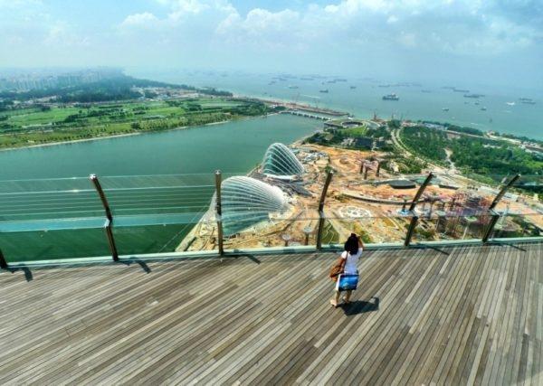 Уникальный отель Marina Bay Sands в Сингапуре., изображение №10