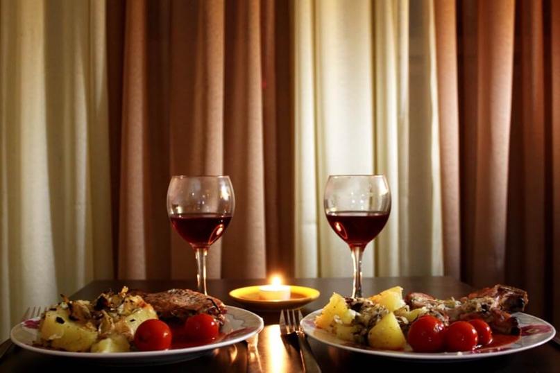 Как организовать и что особенного приготовить на романтический ужин в домашней обстановке