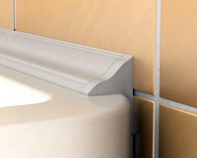 Методы заделки стыка ванны со стеной, изображение №2