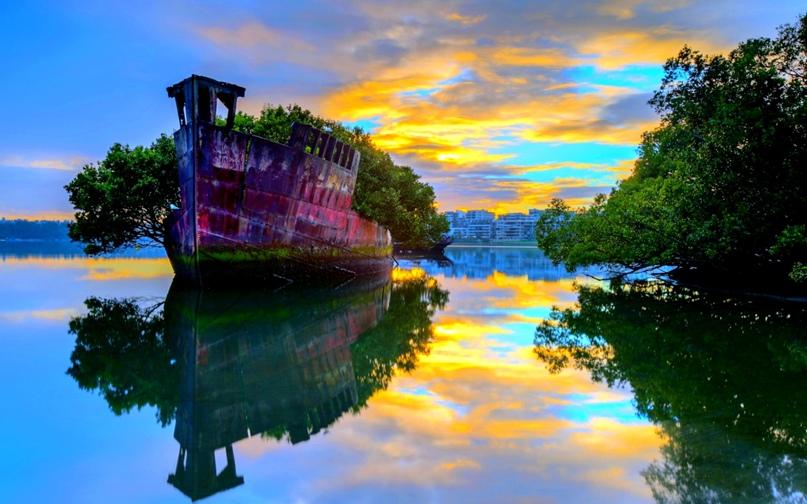 Корабль-призрак в Австралии, изображение №1