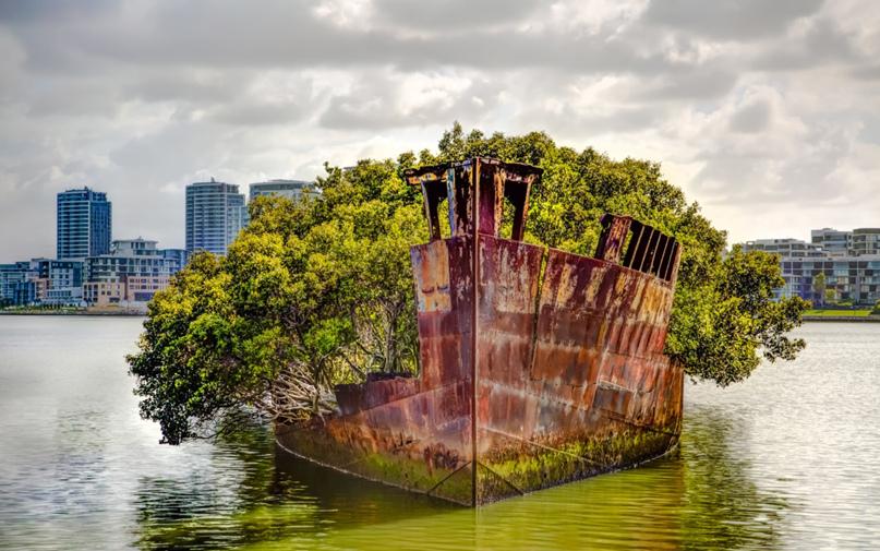 Корабль-призрак в Австралии, изображение №2