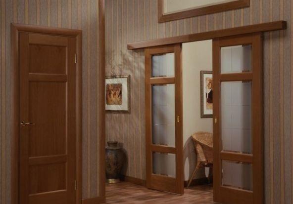 Межкомнатные раздвижные двери — их устройство и установка, изображение №2